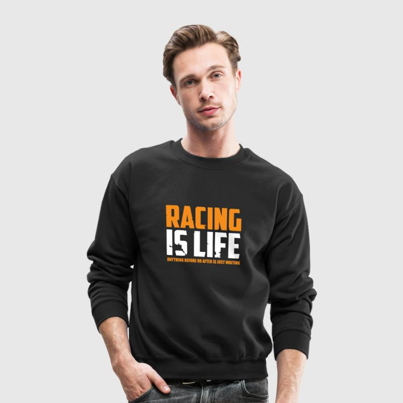Racing Is Life Steve Mcqueen - Crewneck Sweatshirt