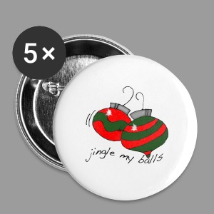 Jingle Balls for Men - Small Buttons