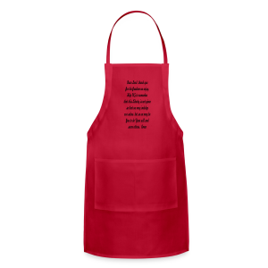 prayer for freedom - Adjustable Apron