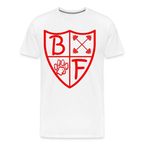 BF 1/4 Shield Long Sleeve - Men's Premium T-Shirt
