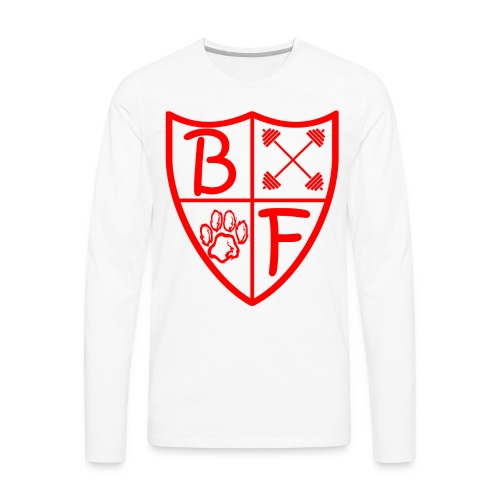 BF 1/4 Shield Long Sleeve - Men's Premium Long Sleeve T-Shirt