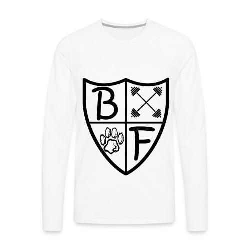 Viking Shield Long Sleeve - Men's Premium Long Sleeve T-Shirt