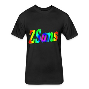 Zsans Male - Fitted Cotton/Poly T-Shirt by Next Level