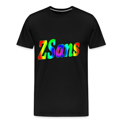 Zsans Male - Men's Premium T-Shirt