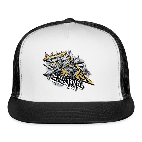 Q2 - Design for New York Graffiti Color Logo - Trucker Cap