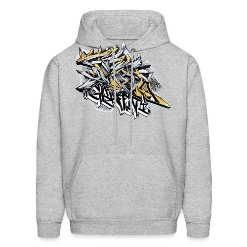 Q2 - Design for New York Graffiti Color Logo - Men's Hoodie