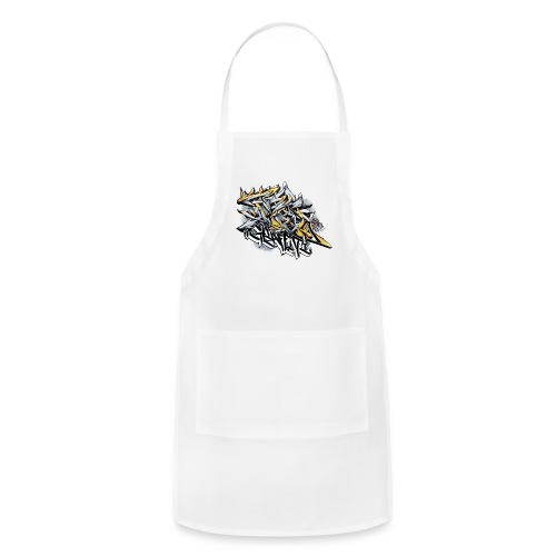 Q2 - Design for New York Graffiti Color Logo - Adjustable Apron