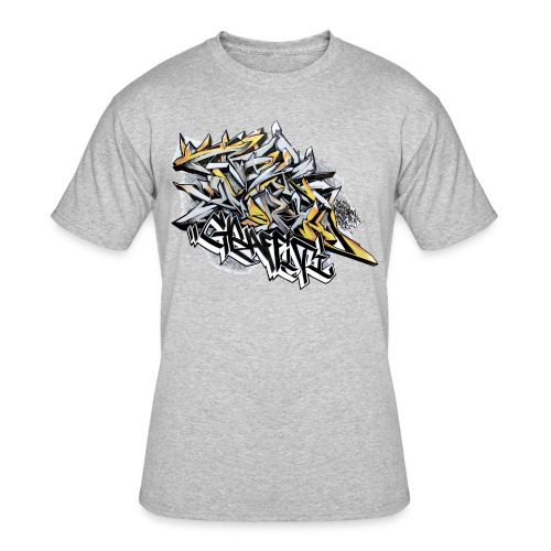 Q2 - Design for New York Graffiti Color Logo - Men's 50/50 T-Shirt