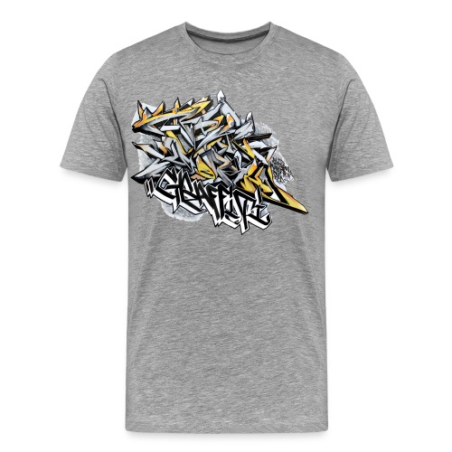 Q2 - Design for New York Graffiti Color Logo - Men's Premium T-Shirt