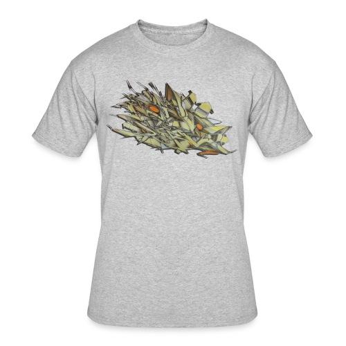 Pensil One - Design for New York Graffiti Color Logo - Men's 50/50 T-Shirt