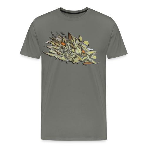 Pensil One - Design for New York Graffiti Color Logo - Men's Premium T-Shirt
