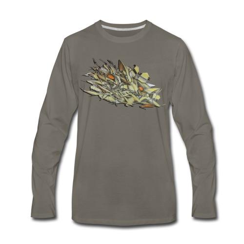 Pensil One - Design for New York Graffiti Color Logo - Men's Premium Long Sleeve T-Shirt