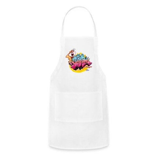 Hideout - Design 2 for New York Graffiti Color Logo - Adjustable Apron