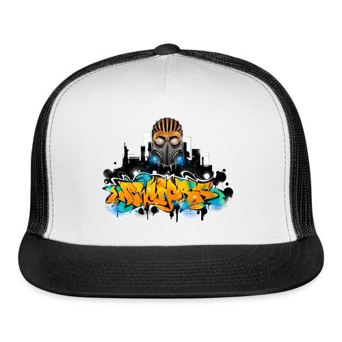 2.ezy - Design for New York Graffiti Color Logo - Trucker Cap