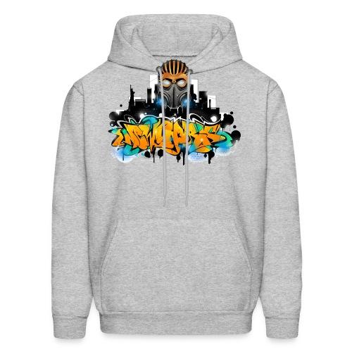 2.ezy - Design for New York Graffiti Color Logo - Men's Hoodie
