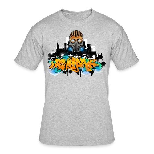 2.ezy - Design for New York Graffiti Color Logo - Men's 50/50 T-Shirt