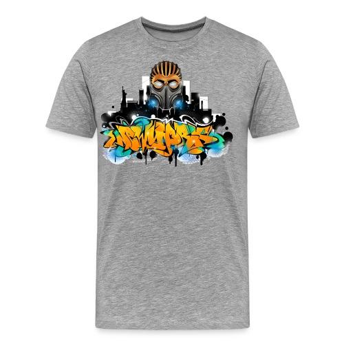2.ezy - Design for New York Graffiti Color Logo - Men's Premium T-Shirt