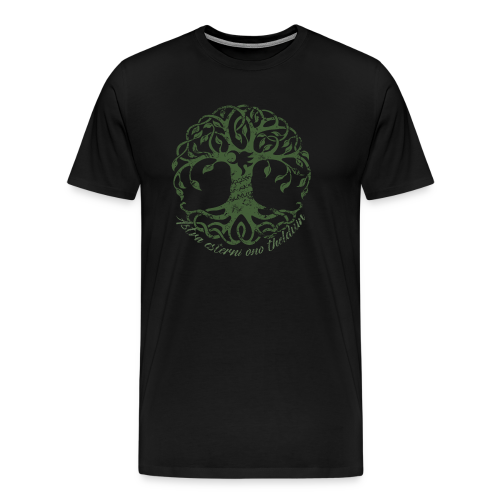 Friend of the Elves (Yawë in the Trees) T-Shirt (Unisex) - Men's Premium T-Shirt