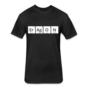 Er Ag O N - Perioidic Table Design T-Shirt (Unisex) - Fitted Cotton/Poly T-Shirt by Next Level