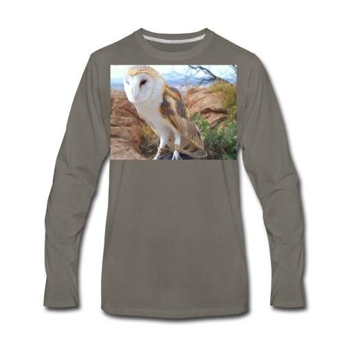 Barn Owl - Men's Premium Long Sleeve T-Shirt