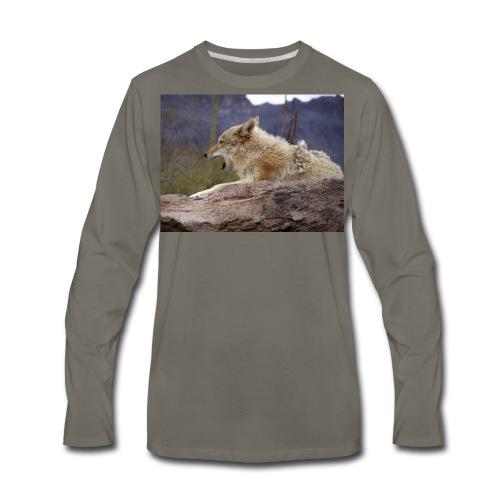 Coyote - Men's Premium Long Sleeve T-Shirt
