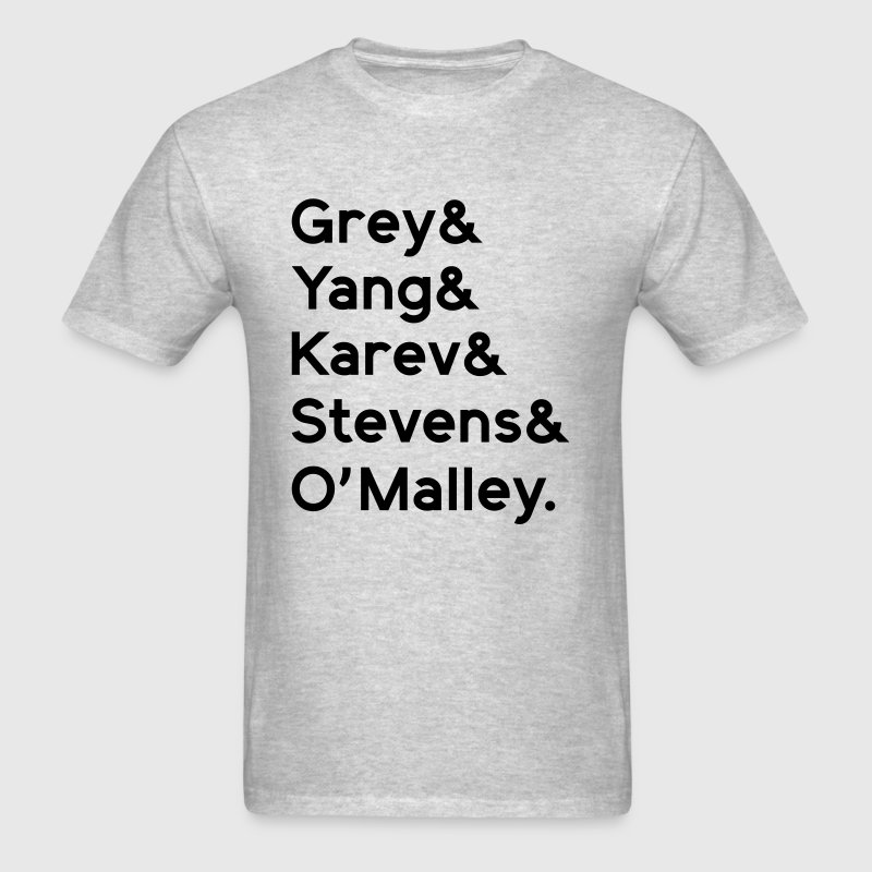GREY, YANG, KAREV, STEVENS, OMALLEY T-Shirts - Men's T-Shirt
