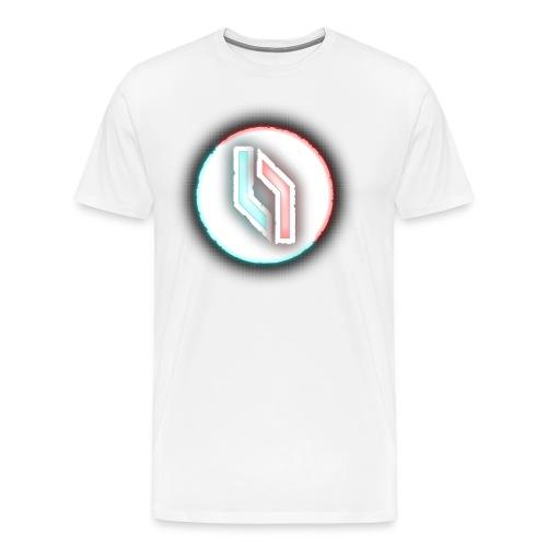 Men's Neon Logo - Men's Premium T-Shirt