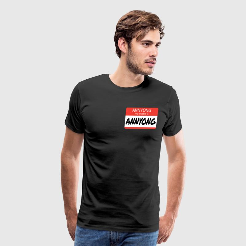 Annyong - Arrested Development T-Shirts - Men's Premium T-Shirt