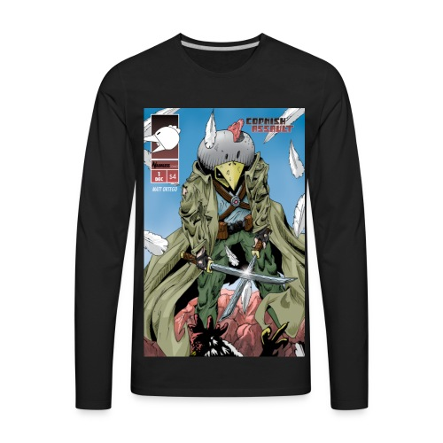 Cornish Assault #1 cover - Men's Premium Long Sleeve T-Shirt
