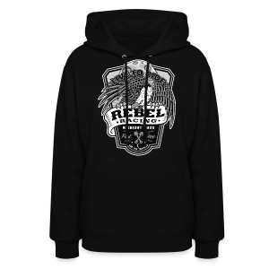 Live to Ride_Midnight Bugs - Women's Hoodie