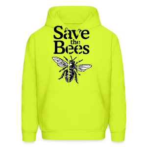 Save The Bees (bicolor) S-5X T-Shirt - Men's Hoodie