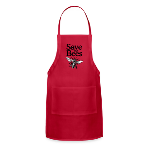 Save The Bees (bicolor) S-5X T-Shirt - Adjustable Apron