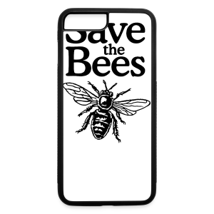 Save The Bees (bicolor) S-5X T-Shirt - iPhone 7 Plus/8 Plus Rubber Case