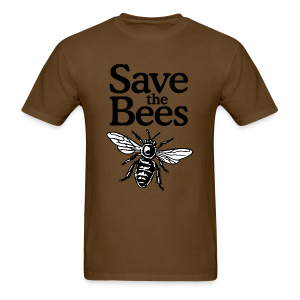 Save The Bees (bicolor) S-5X T-Shirt - Men's T-Shirt