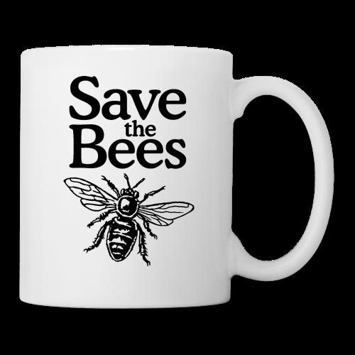 Save The Bees (bicolor) S-5X T-Shirt - Coffee/Tea Mug