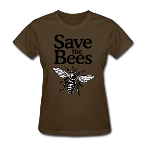 Save The Bees (bicolor) S-5X T-Shirt - Women's T-Shirt