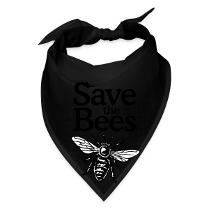 Save The Bees (bicolor) S-5X T-Shirt - Bandana