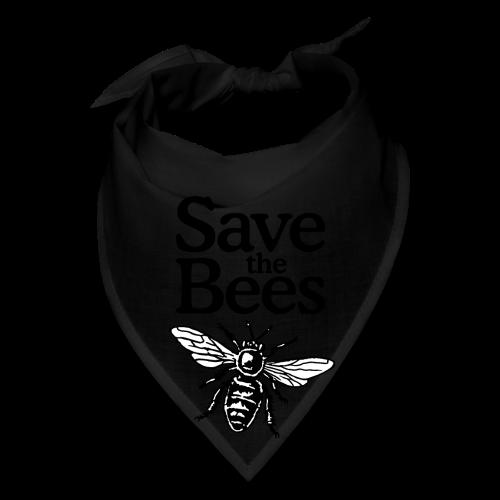 Save The Bees (bicolor) S-5X T-Shirt - Bandana