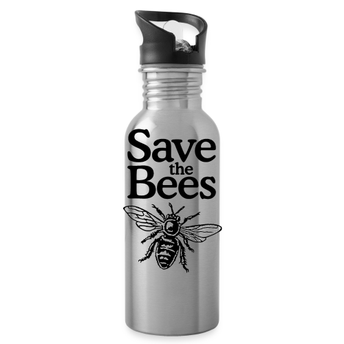 Save The Bees (bicolor) S-5X T-Shirt - Water Bottle
