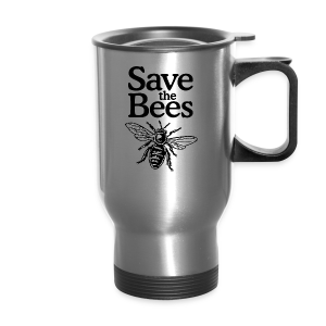 Save The Bees (bicolor) S-5X T-Shirt - Travel Mug
