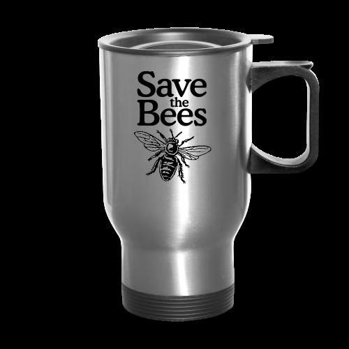 Save The Bees (bicolor) S-5X T-Shirt - Travel Mug