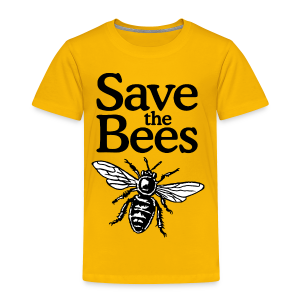Save The Bees (bicolor) S-5X T-Shirt - Toddler Premium T-Shirt