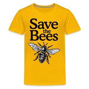 Save The Bees (bicolor) S-5X T-Shirt - Kids' Premium T-Shirt