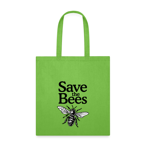 Save The Bees (bicolor) S-5X T-Shirt - Tote Bag