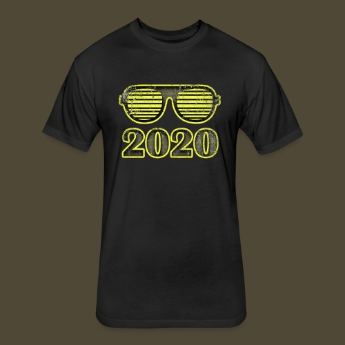 2020 Y'all - Fitted Cotton/Poly T-Shirt by Next Level