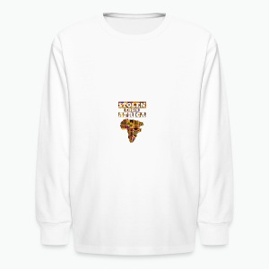 Stolen From Africa Apparel - Kids' Long Sleeve T-Shirt