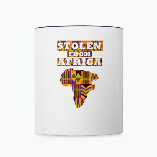 Stolen From Africa Apparel - Contrast Coffee Mug