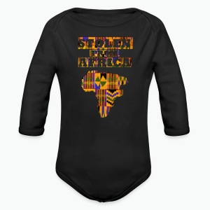 Stolen From Africa Apparel - Long Sleeve Baby Bodysuit