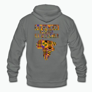 Stolen From Africa Apparel - Unisex Fleece Zip Hoodie by American Apparel