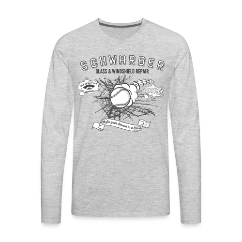 Schwarber Glass - Men's Premium Long Sleeve T-Shirt